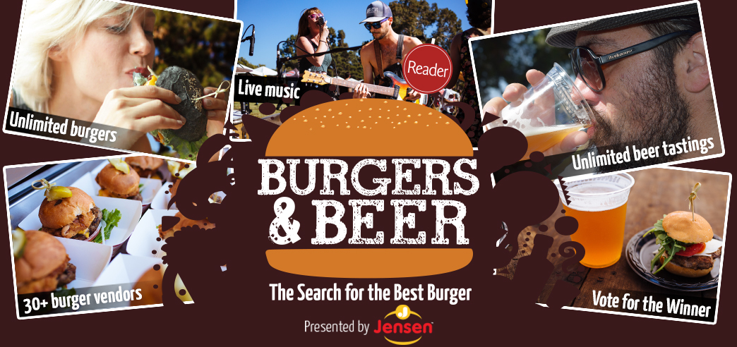 Burgers & Beer - September 9, 2017 @  Golden Hill Park