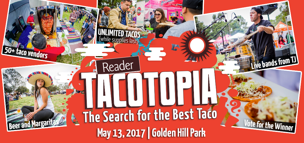 Tacotopia - May 13, 2017 @  Golden Hill Park
